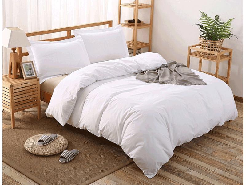 Lenjerii de pat albe-calitate desavarsita doar de la CNC Home