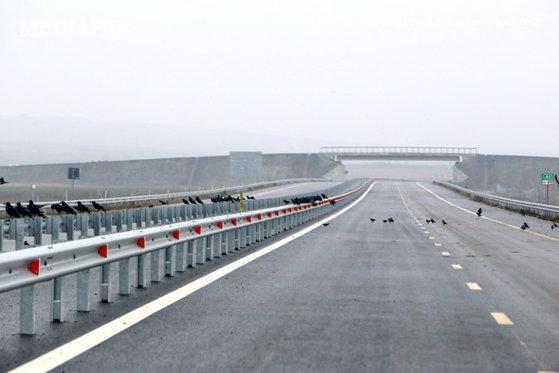 Loturile 3 si 4 ale autostrazii Lugoj-Deva vor fi deschise peste doua saptamani