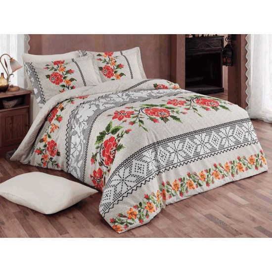 Lenjerii de pat bumbac 100%-delicate si confortabile