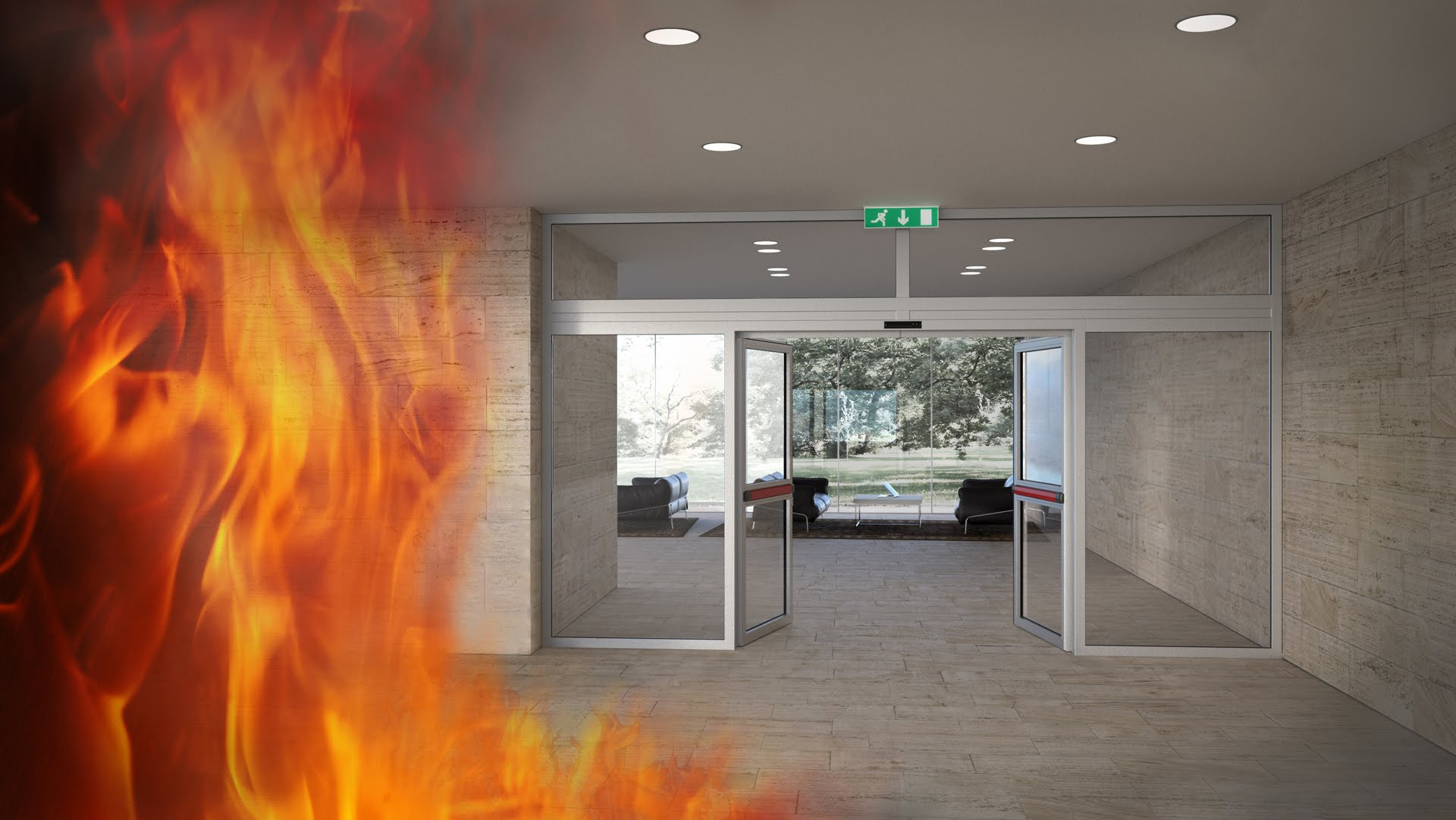 Arcom Glass partenerul dumneavoastra in usi automate rezistente la foc