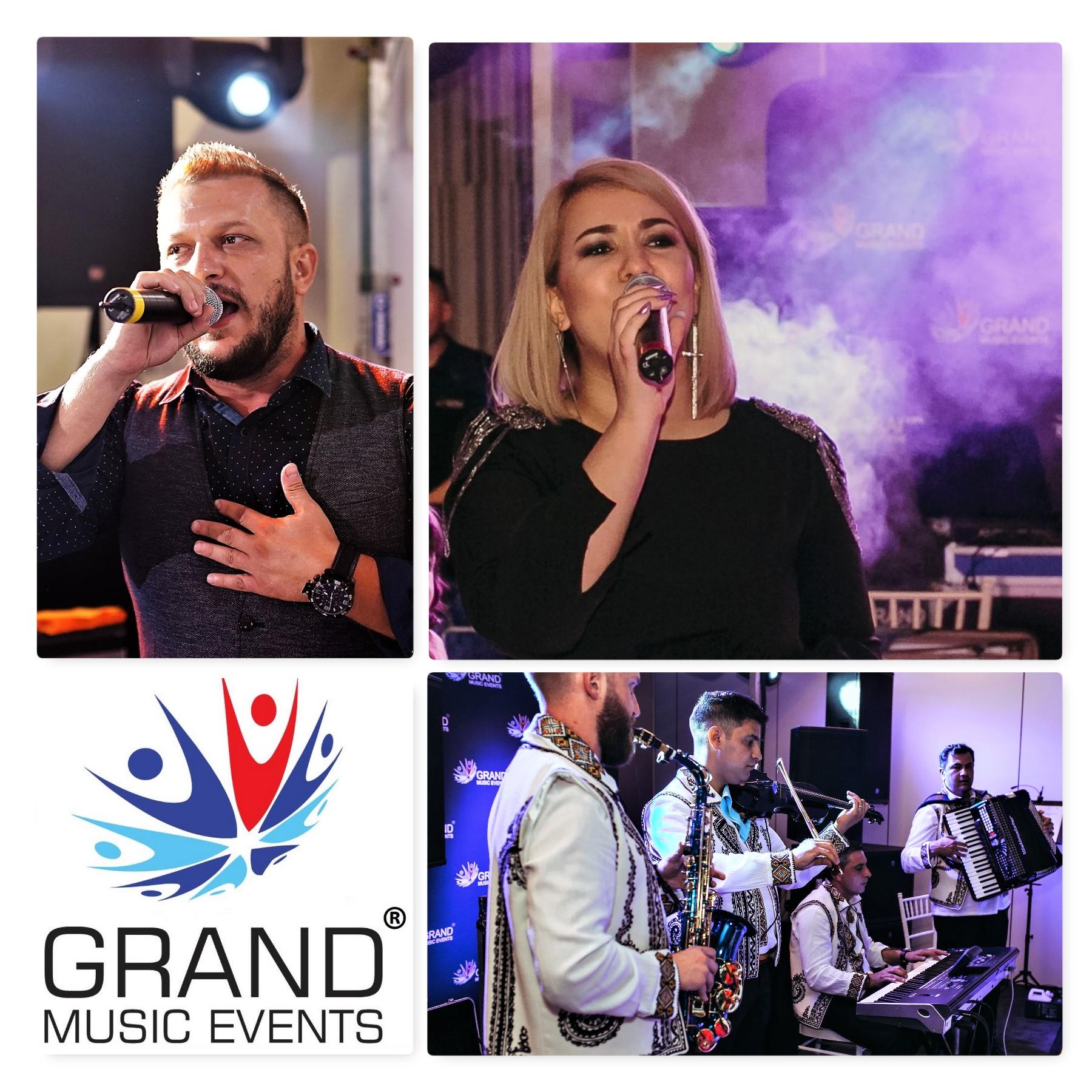 Da tonul petrecerii de nunta cu formatia Grand Music Events din Bucuresti