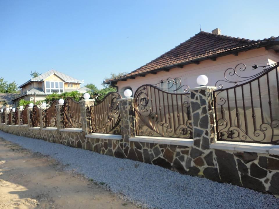 Gard fier forjat Onesti- alegerea perfecta pentru cei cu gusturi rafinate