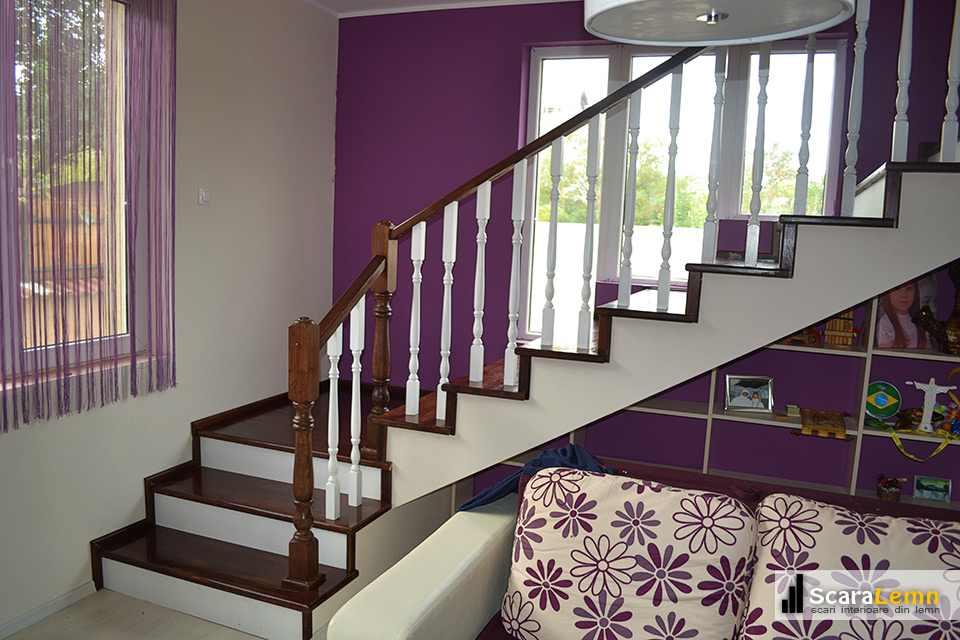 Clasificarea tipurilor de scari interioare lemn in functie de forma si structura