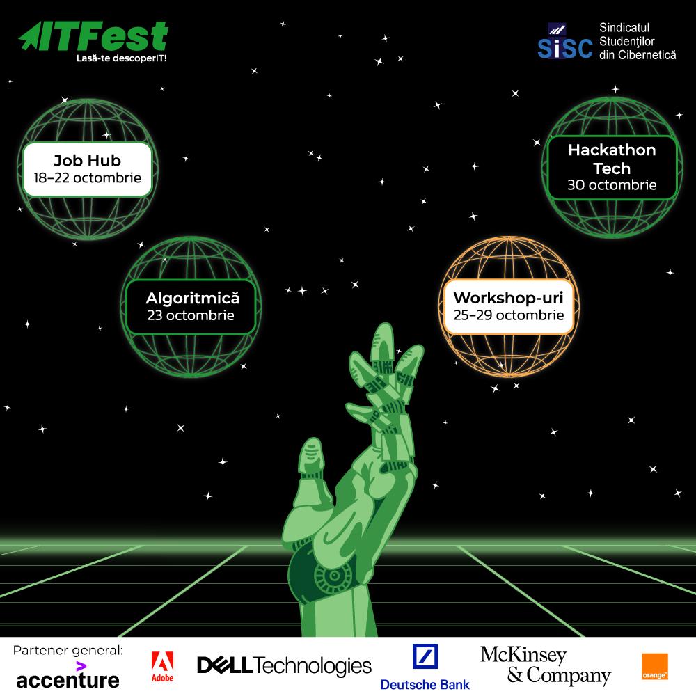 Lasa-te descoperIT in cea de-a XIV-a editie ITFest!